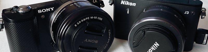 Vergleich: Sony alpha 5000 vs Nikon 1 J3 – Teil 1